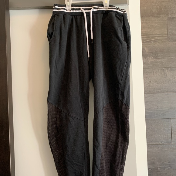 Women's Sweatpants Joggers with Mesh